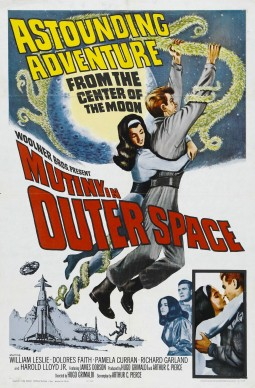 Mutiny in outer-space Affiche