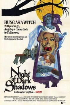 Night of Dark Shadows Affiche