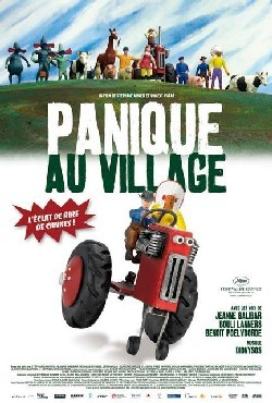 Panique au village Affiche