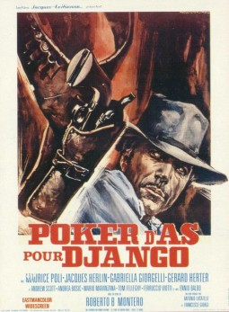 Poker d'as pour Django Affiche