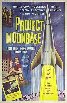 Project moonbase Affiche