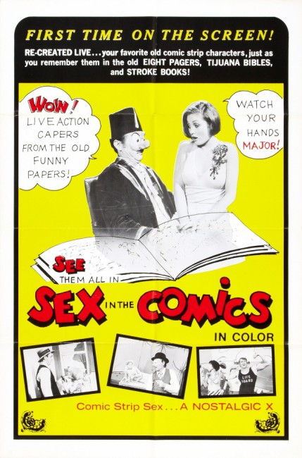 Sex in the comics Affiche