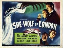 She-Wof of London Affiche