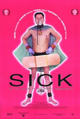 Sick : the life and death of Bob Flanagan, Supermasochist Affiche