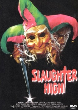 SLAUGHTER HIGH Affiche