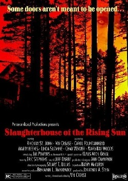 Slaughterhouse of the Rising Sun Affiche