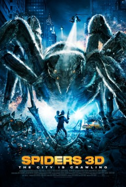 Spiders 3D Affiche