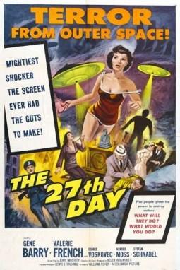 The 27th Day Affiche