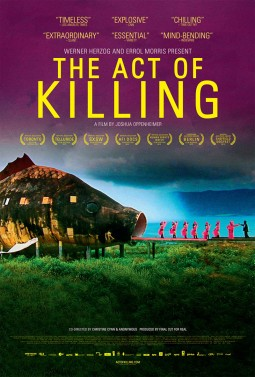 The act of killing Affiche