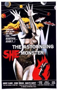 The Astounding She Monster Affiche