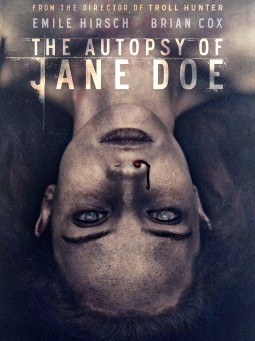 The autopsy of Jane Doe Affiche