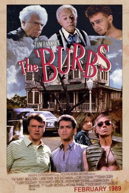 The Burbs Affiche