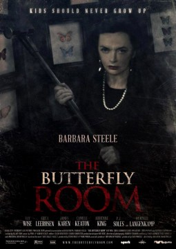 The butterfly room Affiche