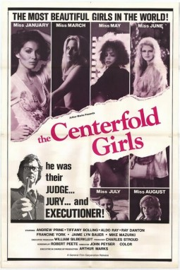 The centerfold girls Affiche