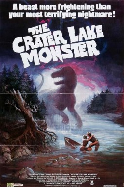 The Crater Lake Monster Affiche