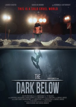 The dark below Affiche
