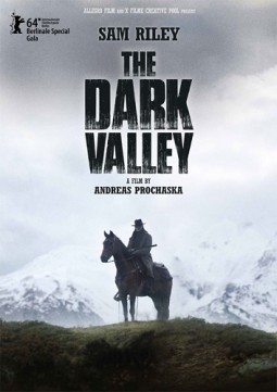 The dark valley Affiche