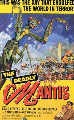The Deadly Mantis Affiche