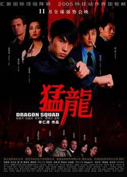 The Dragon Squad Affiche