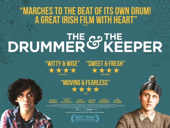 The drummer and the keeper Affiche