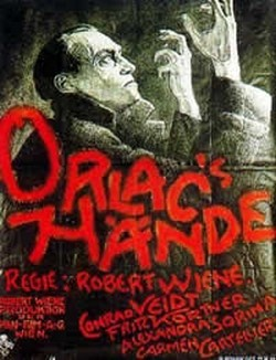 The Hands of Orlac Affiche
