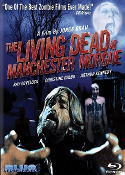 The living dead at Manchester morgue Affiche