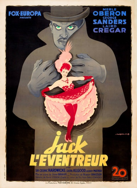 The Lodger Affiche
