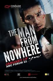 The man from nowhere Affiche
