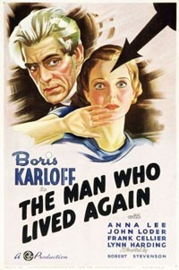 The man who lived again Affiche
