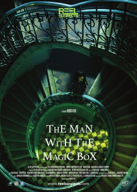 The man with the magic box Affiche