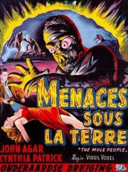 The Mole People Affiche