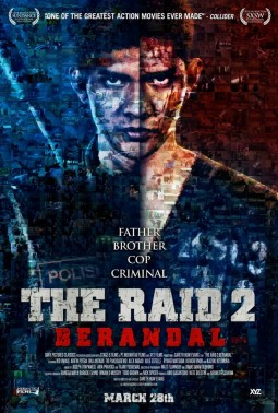 The Raid 2 : Berandal Affiche