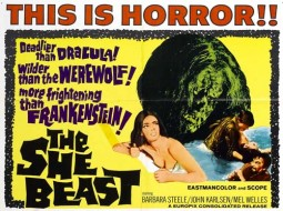 The She Beast Affiche