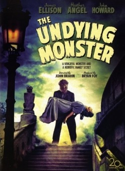 The Undying Monster Affiche