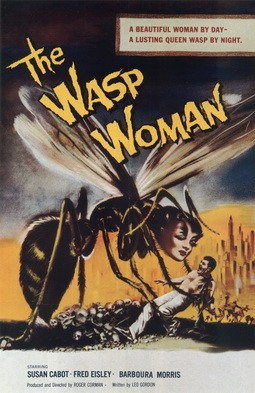 The Wasp Woman Affiche