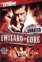 The wizard of gore Affiche