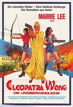 They called her... Cleopatra Wong Affiche
