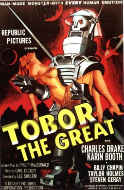 Tobor the Great Affiche