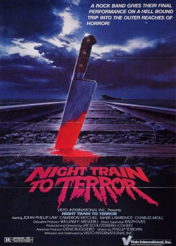 Train Express pour l'Enfer Affiche