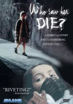 Who saw her die? Affiche