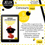 Jeu concours French Pulp