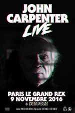 John Carpenter en concert!
